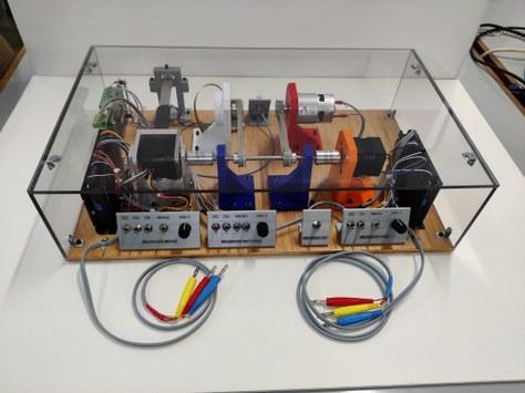 Construcció d'un banc d'assaig de motors elèctrics de corrent continu de darrera generació