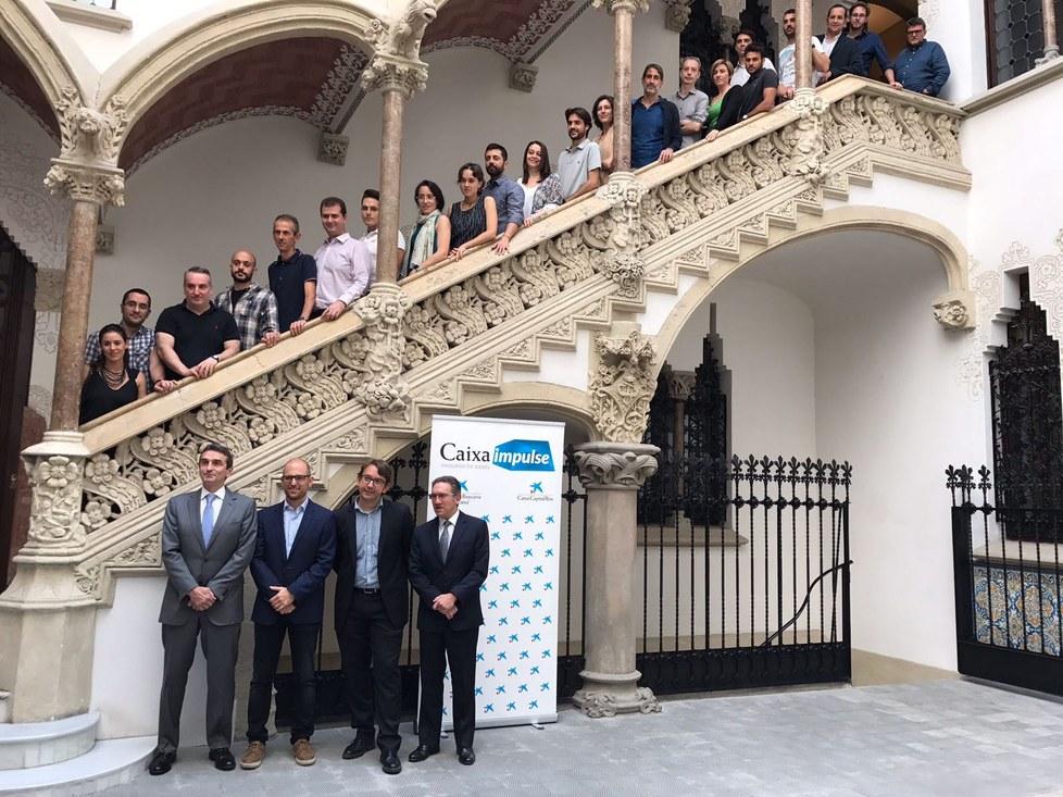 Premiats en el programa CaixaImpulse 2017