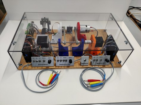 Construction of a latest generation DC electric motors test bench