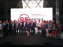 Alfons Carnicero y Míriam Febrer, del grupo de investigación BIOMEC, han sido premiados por el Colegio de Ingenieros Industriales de Cataluña