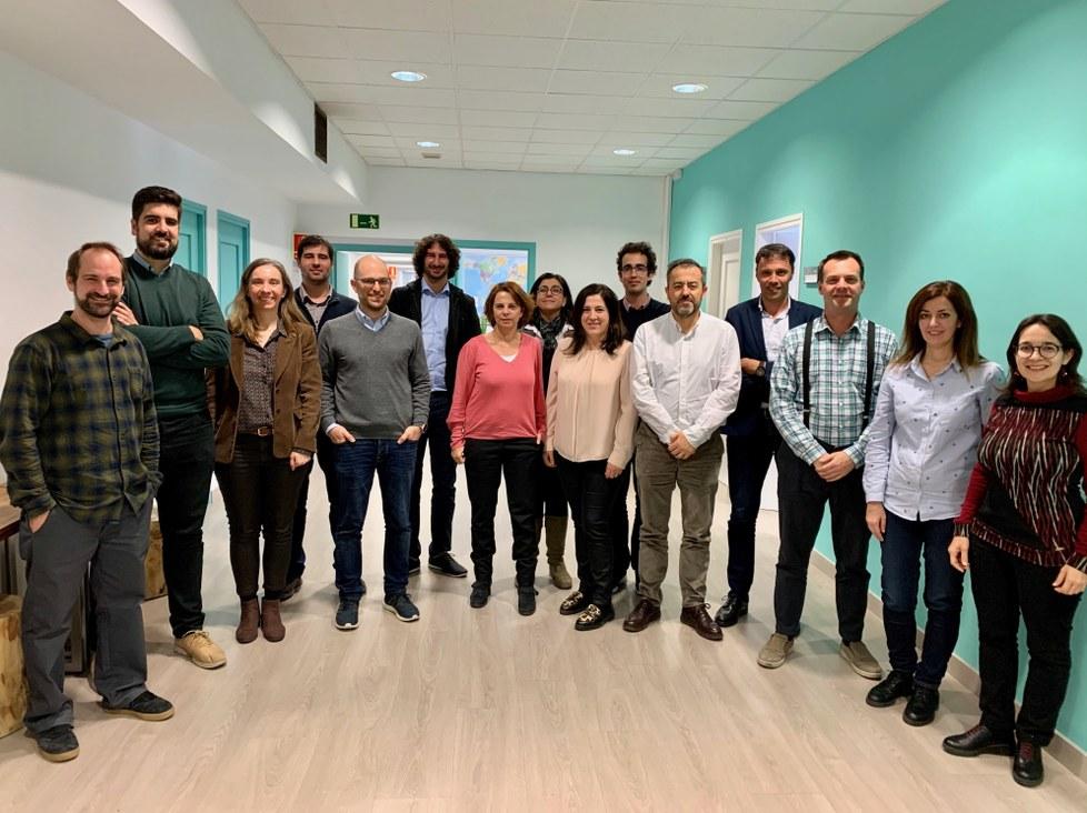 Participantes a la reunión