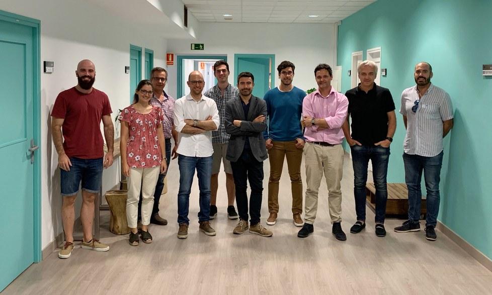 Equipo investigador del proyecto TAILOR con miembros de BIOMEC-UPC, Instituto Cajal CSIC, Hospital Nacional de Parapléjicos e Institut Guttmann.